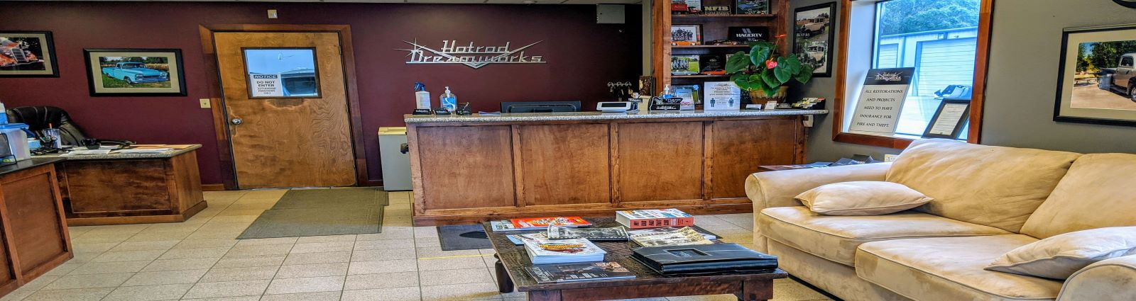Hot Rod Dreamworks & Collision Repair interior